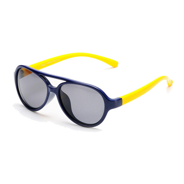 16Colors Polarized Children Kids SunGlasses Child Baby Boys Gilrs Coating Mirror Eyewear UV Protection Sun Glasses For children