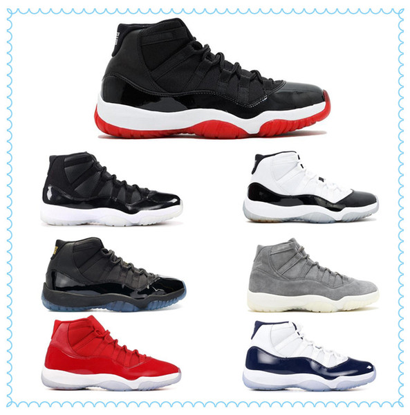2019 Space Jam 11 Win Like 96 Gym Red 11s Midnight Navy 11 Basketball Shoes wholesale With Box Sport Sneakers Unisex Size