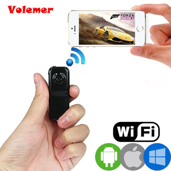 Volemer Hot MD81S Mini cámara Wifi IP P2P Cámara inalámbrica Grabación secreta CCTV Android iOS Videocámara Video Espia Nanny Candid