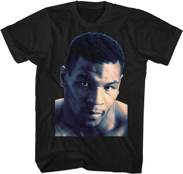 Mike Tyson-Kopf schoss Foto-erwachsenes T-Shirt Verpacken-Champion