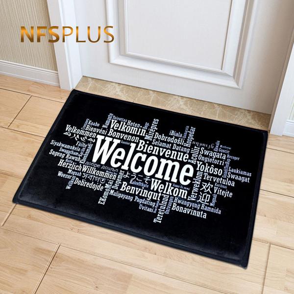 Acheter Bienvenue Tapis D Entree Tapis D Entree Couloir Simple
