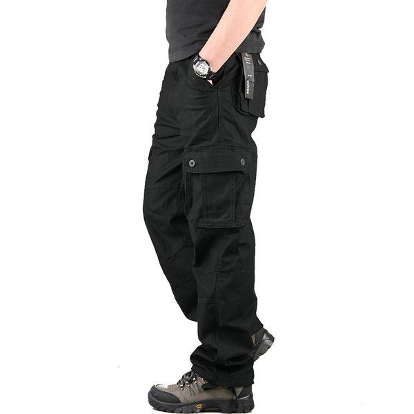 design di qualità ed2c1 6dbe4 Acquista Pantaloni Uomo Pantaloni Cargo Uomo Casual Multi Tasche Outwear  Generale Pantaloni Larghi E Larghi Pantaloni Tattici Militari CK102 A  $34.22 ...