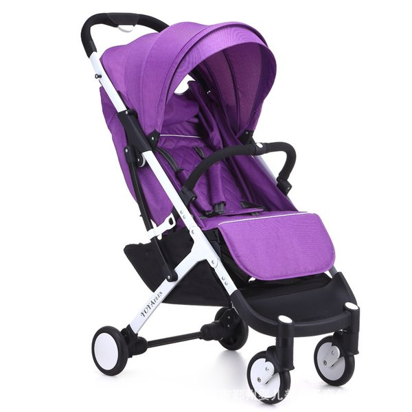 YoyaPlus baby stroller 0-36 months baby use 175 degree newborn sleeping pram cart plus stroller cart 5.8kg