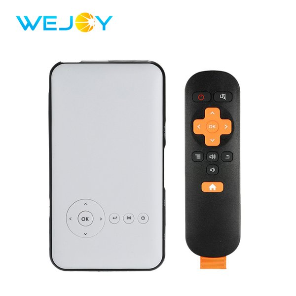 Wejoy Mini Proiettore DL-S6 8G Smart Proiettore LED portatile DLP Home Theater portatile Android Pico Pocket Mobile Phone Projetor