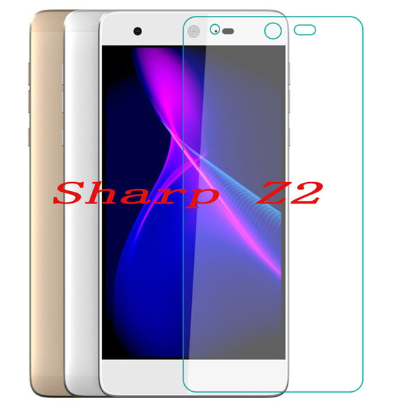 Smartphone Tempered Glass for Sharp Z2 9H Explosion-proof Protective Film Screen Protector cover phone