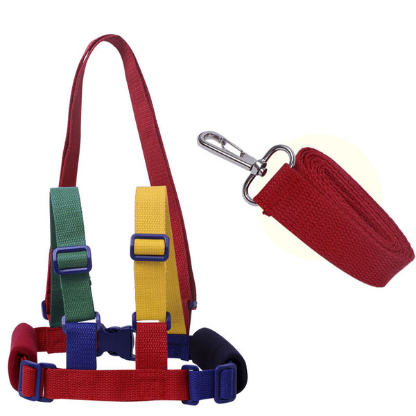 Toddler Harness Leash Baby Learning Walking Assistant Safety Belt for Infant Walking Anti-lost Wrist Link Anti Lost Ring