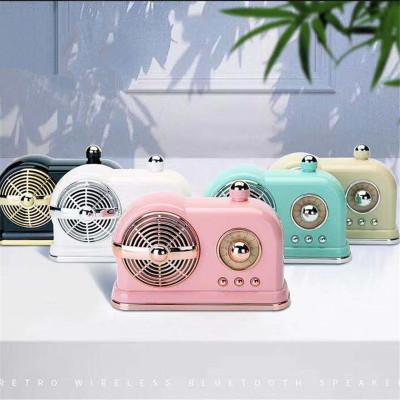 New New retro bluetooth speaker cartoon style cute mini subwoofer HM10 U disk TF Handsfree for iphone Samsung Xiaomi