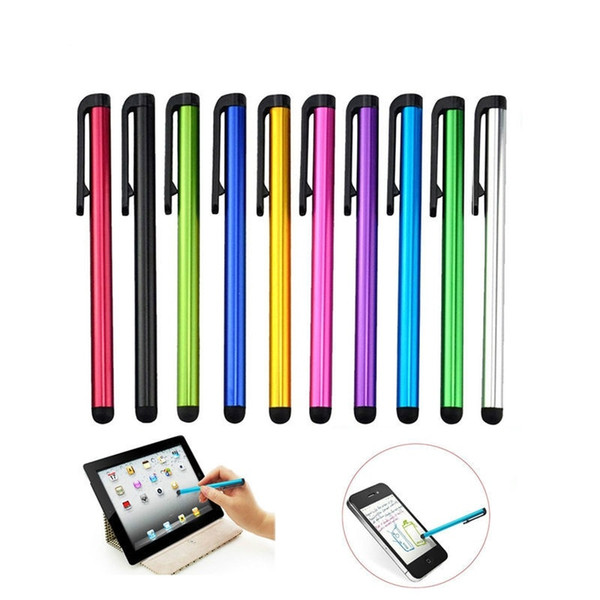 E418 10pcs Capacitive Touch Screen Stylus Pen For IPad Mini 2 3 4 For iPhone 4s 5 6 7 Samsung Universal Tablet PC Smart Phone