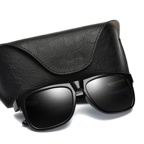 2018 Men Polarized Sunglasses Classic Men Vintage Sun Shades Brand Designer Sun Glasses Women Retro Glasses UV400 Eyewear