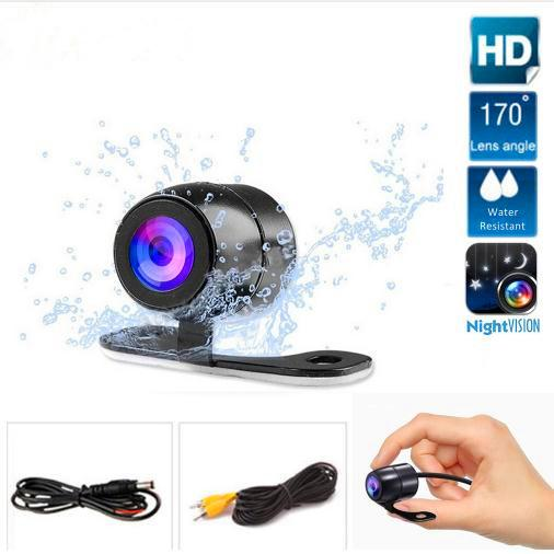 High Quality Car Rear View Parking Camera HD Color Rearview Camera Car Park Monitor 170Degree CCD Waterproof Car Reverse Backup Camera