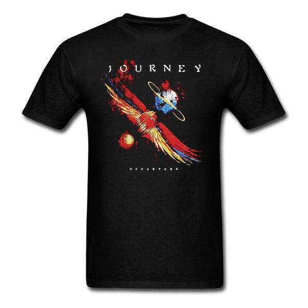 Journey Departure Vintage T-Shirt Men and Women Rock Music Tee big Size S-XXXL