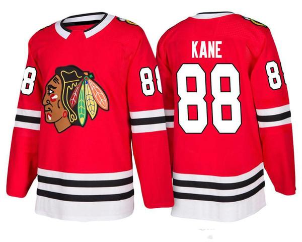 2018 New Chicago Blackhawks Hockey Jerseys Men  88 Patrick Kane 2 Keith 19  Toews 50 214e1e9f0fa