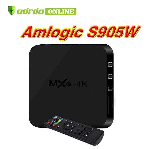 Hot MX2 MXQ PRO 4K MXQ-4K Amlogic S905W Quad Core Android 7.1 TV BOX 4K Media Player