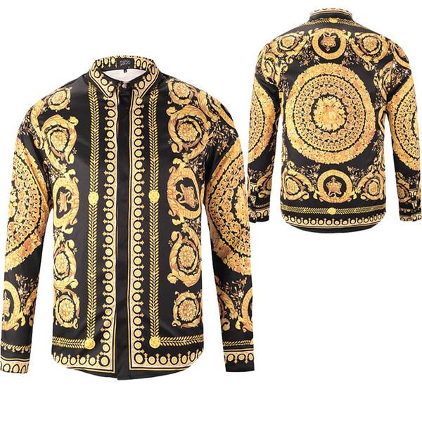 fujing92 / Vender como quente Novo 2018 mens Designer de manga comprida Casual Sólida camisa dos homens eua Marca Camisas de moda camisas sociais Oxford Pequen