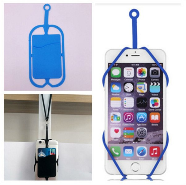 Nice design good quality wrist strap Necklace Sling Lanyard Card Holder Strap keychain for Universal Mobile Cell Phone