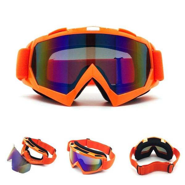 Occhiali da moto di alta qualità Protezione degli occhi Occhiali sportivi per attività sportive all'aperto Paintball portatile Maschera da sci per le donne da uomo 30bd ff