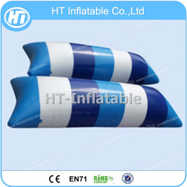 Free Shipping 9x3m Factoy Price Jumping Water Blob Launch Inflatable Water Catapult Blob For Sale Free One Pump