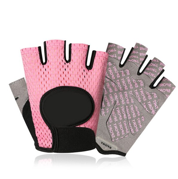 Sports Gloves men and women breathable thin section training gym dumbbell exercise non-slip sports riding fitness half finger gloves