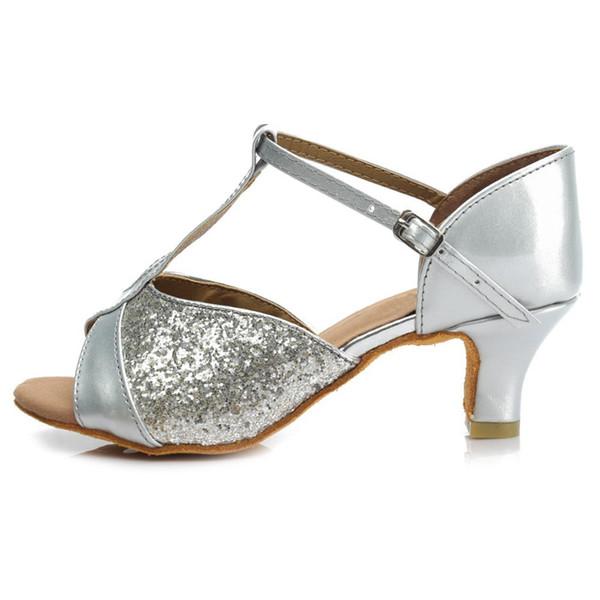 Silver 5cm Heel