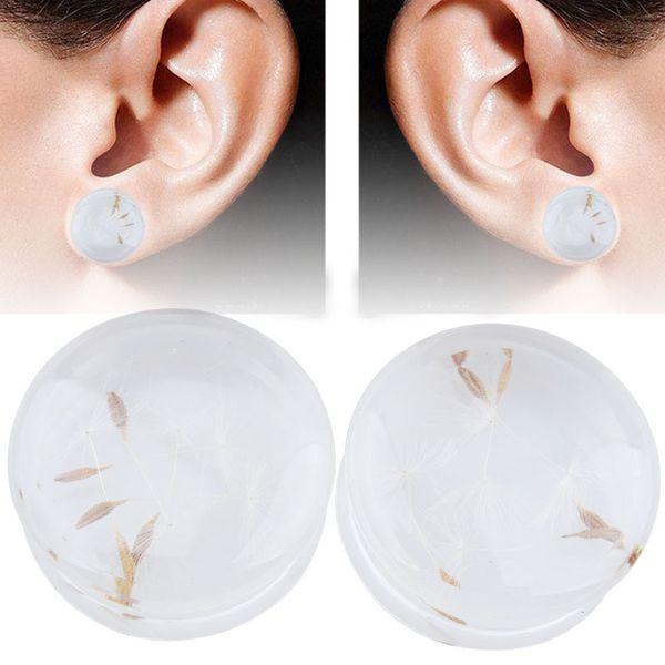 2pcs Body Piercing Jewelry Tunnels Plugs