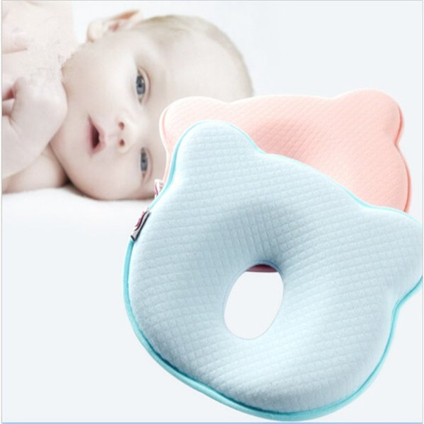 1PC Polyester Fiber Baby Shaping Pillow Prevent Flat Head Newborn Room Infants Animal Shape Pillows High Quality Infant Pillow