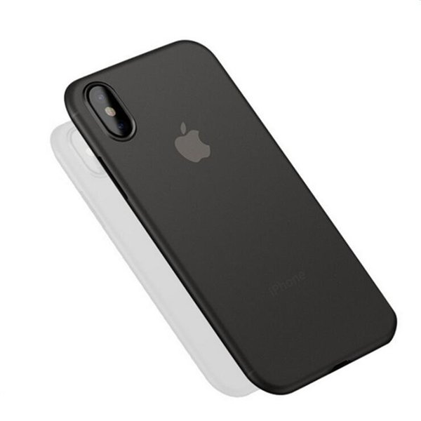For iPhone XS Max XR Transparent Grind Phone Case Against Falling Silicone Protective Cover For iPhone X 6 7 8 Plus
