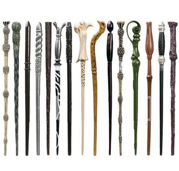1000pcs Creative Cosplay 28 Styles Hogwarts Harry Potter Series Magic Wand New Upgrade Resin Harry Potter Magical Wand