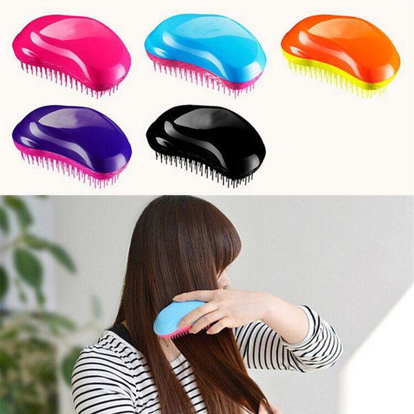 Magic TT Comb Anti-Static Hair Brush Plastic Detangle Hair Brushes Salon Hair Styling TT Combs Shower Brush for girls women men