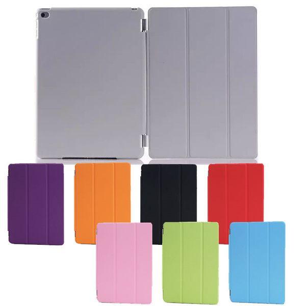 Custodia pieghevole pieghevole magnetica + Custodia posteriore opaca per iPad Air 2 3 4 5 6 Custodia pieghevole Retina iPad mini 2 iPad con auto riposante SCA406