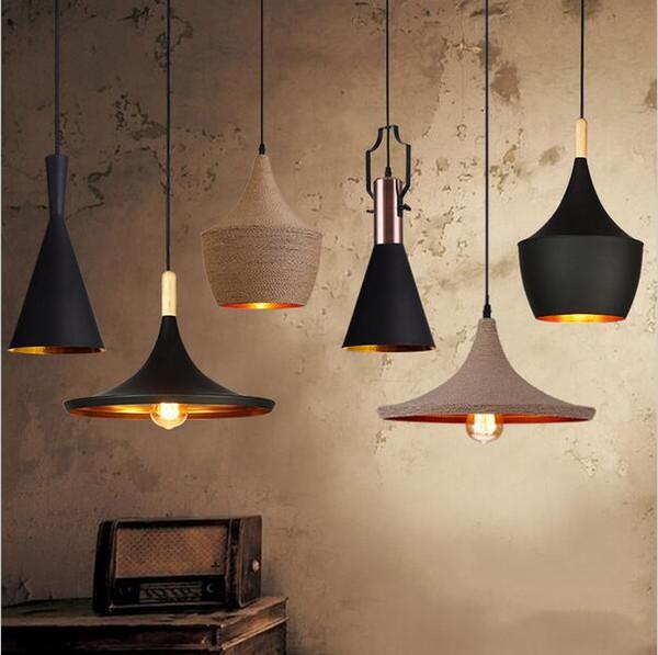 Angleterre Beat Instrument de musique Suspensions suspendues Restaurant bar lampe d'éclairage à la maison ingénierie lampe à suspension