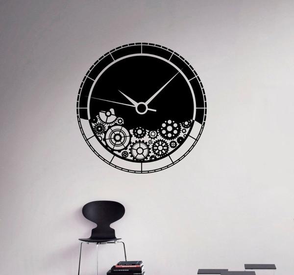 Grosshandel Uhrwerk Wandtattoo Getriebe Zahnrad Wasserdicht Wandaufkleber Home Wohnzimmer Kreative Dekorative Wandtattoo M 33 Von Sheiler 32 09 Auf