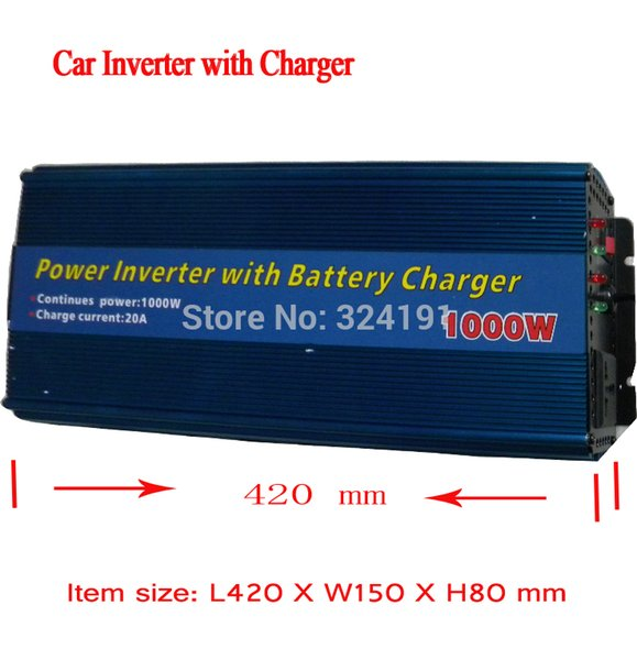 Powerful Car Accessories DC 12v To AC 220v ,1000watts Car Power inverter Converter Transformer Adapter battery Charger Inverters