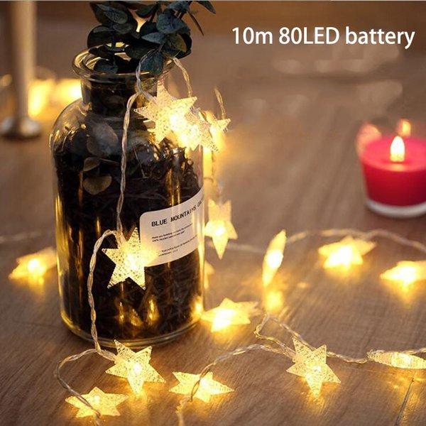 10m 80LED battery S