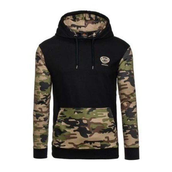2018-GustOmerD Nueva marca de camuflaje del ejército para hombre con capucha de los hombres suéter con capucha chándales hombres Slim Fit sudadera hombres tamaño US-S-XXL