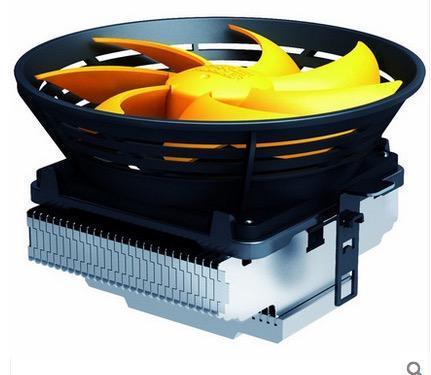 Wholesale- CPU Cooler fan Quiet 12cm fan cooling for LGA 1151 775 115x for AM2+ AM3+ FM1 FM2 Radiator PcCooler Q120