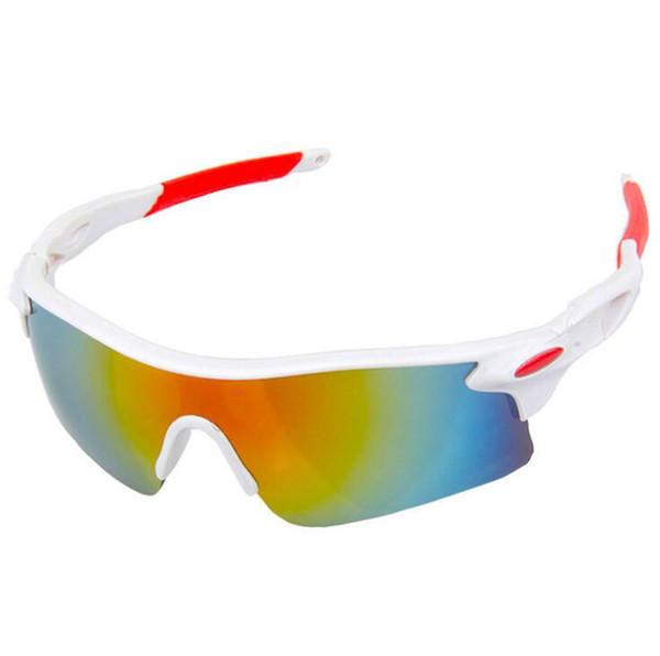 4219a6489d 2018 hombres mujeres gafas de ciclismo deporte al aire libre bicicleta de  montaña gafas de sol