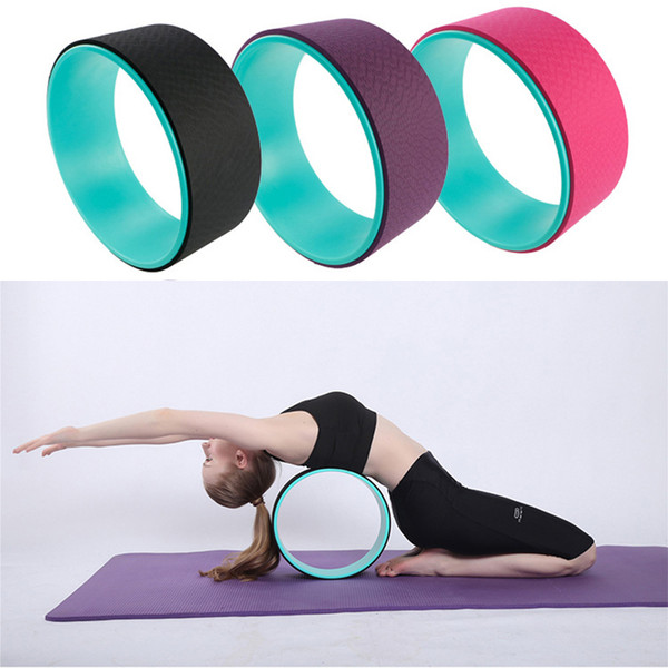 Yoga Circle Stretch Resistance Ring Pilates Bodybuilding Fitness Workout hot
