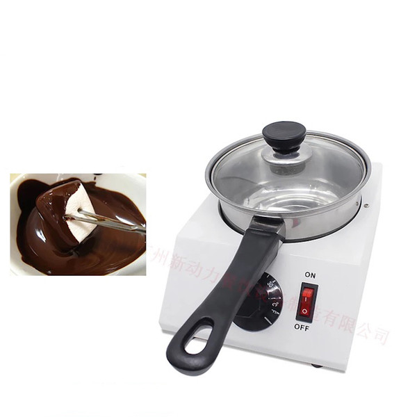 Commercial Electric Chocolate Melting Machine Baking Tools Home Small Melting Pot Chocolate Melting pot Tool mini
