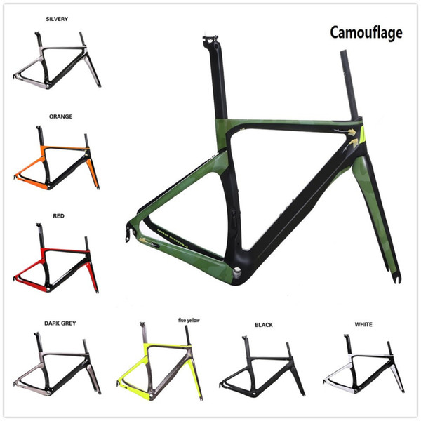 COSTELO NK3K full carbon disc thru axle road bike frame,fork headset clamp seatpost T1000 Carbon Road bicycle Frame free shipping