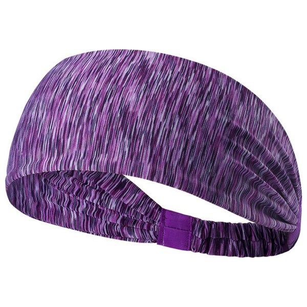 Women Cotton Knotted Turban Head Warp Hair Band Wide Elastic Headband Sport Yoga 2017 Stretch Hairband Elastic Hair Band