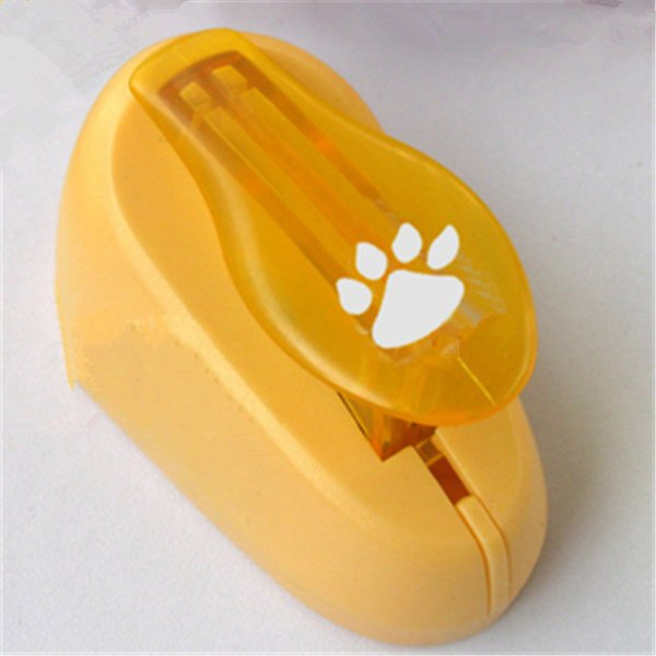 Free shipping Cat claw Hole Puncher Scrapbooking Animal Shaped Paper Cutter Scrapbook Embossing Machine Decorative Craft Punch