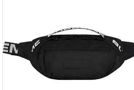 Bolso de la cintura del diseñador 18SS 3M 44.o Sup Unisex Fanny Pack Cintura de la manera Hombres Lona negro rojo Bolso de la correa Hombres Messenger Bags Shoulder Bagred