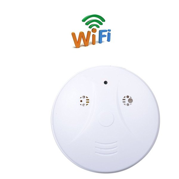 32GB Wifi HD 1080P Nanny Camera Smoke Detector Video Recorder Wireless Home Security Surveillance Camcorder Mini DV DVR Support APP View