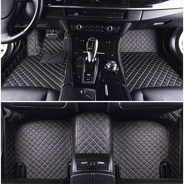 3D Luxury Custom Car Floor Mats for JEEP COMPASS GRAND CHEROKEE RENEGADE WRANGLER PATROIT Car Mat Alfombrilla Coche Tapete Carro Universal