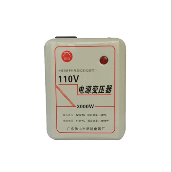 3000W 220V to 120V step-down Voltage Converter Travel Power Adapter Transformer