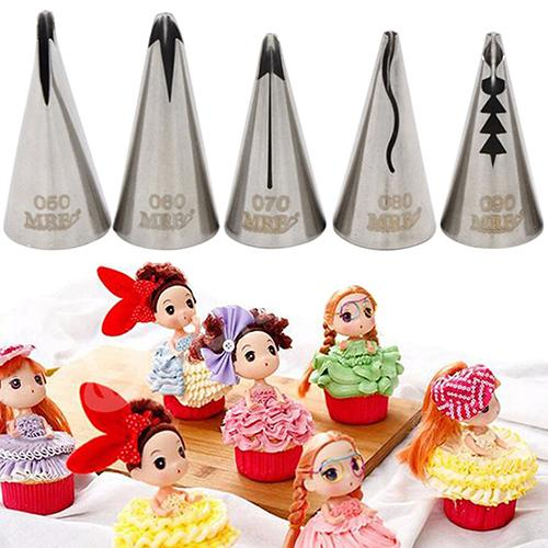 Stainless Steel Icing Pipe Cake Decor Sugarcraft DIY Tool Bakeware Nozzle Tip