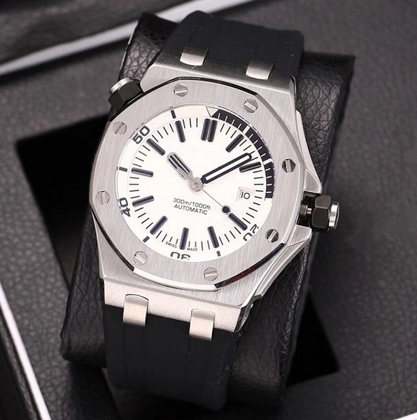 New AAA luxury fashion men's watch royal rubber three-pin machinery(retail or wholesale) rejols gift