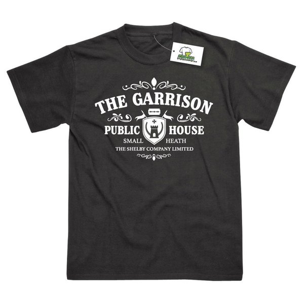The Garrison Inspired by Peaky Blinders Printed T-Shirt Cool Casual pride t shirt men Unisex New Fashion tshirt Loose