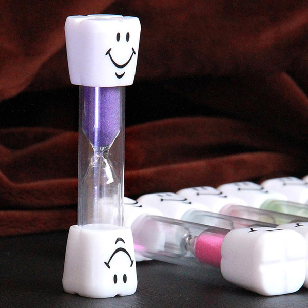 3 Minutes Mini Smiling Face Sand Clock The Hourglass Decorative Household Items Kids Toothbrush Timer Sand Clock Gifts
