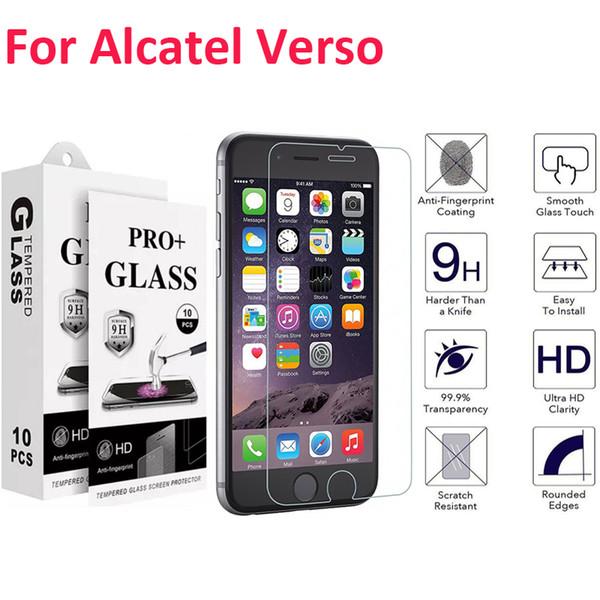 Для Alcatel Verso Camox idealxcite 5044r U50 Idol 5 Walters A30 Закаленное стекло Защитная пленка для экрана с бумажным пакетом